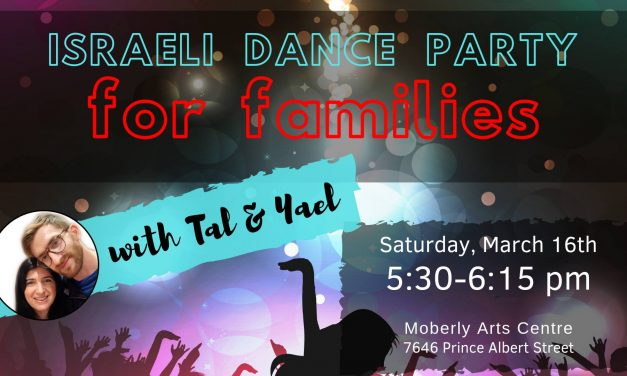 Israeli Dance Party for Families
