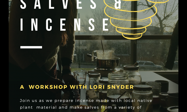 Making Beeswax Salves & Incense w/ Lori Snyder