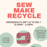 Social Stitching: Sew, Make, Recycle