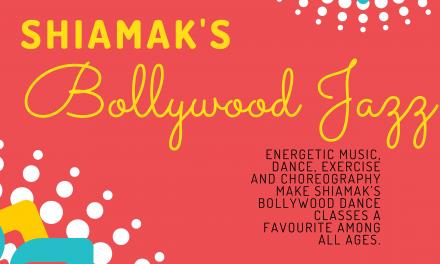 Shiamak's Bollywood Jazz returns this spring!