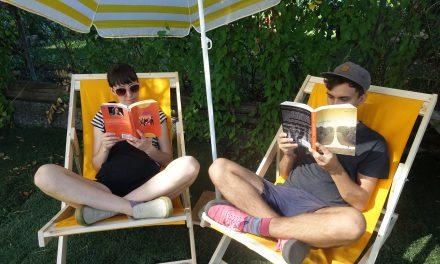 Reading Lounge at Sunset